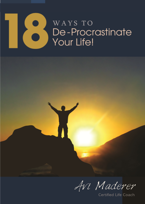 18 Ways to De-Procrastinate Your Life